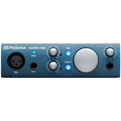 Внешняя звуковая карта PreSonus AudioBox IOne недорого