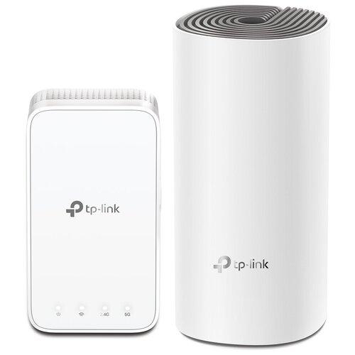 Wi-Fi Mesh система TP-LINK Deco AC1200, белый wi fi система tp link deco ac1200 2 pack белая