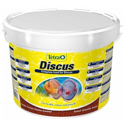 Фото - Сухой корм для рыб Tetra Discus Granules, 10 л, 3 кг сухой корм для рыб tetra discus granules 100 мл