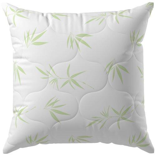 Подушка Волшебная ночь Бамбук 70 х 70 см белый