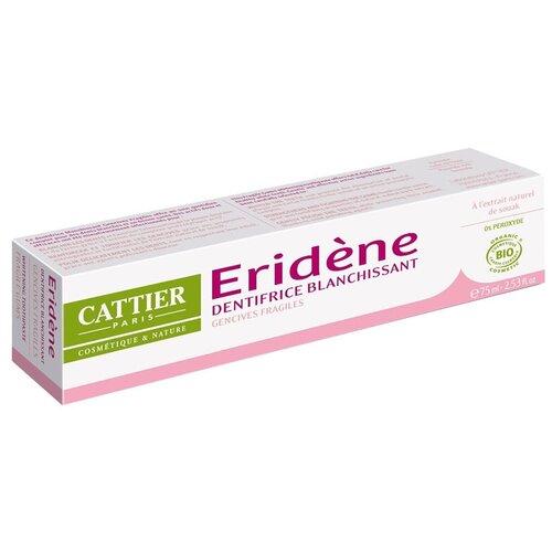 Купить Зубная паста Cattier Эриден отбеливающая для чувствительных десен, 75 мл