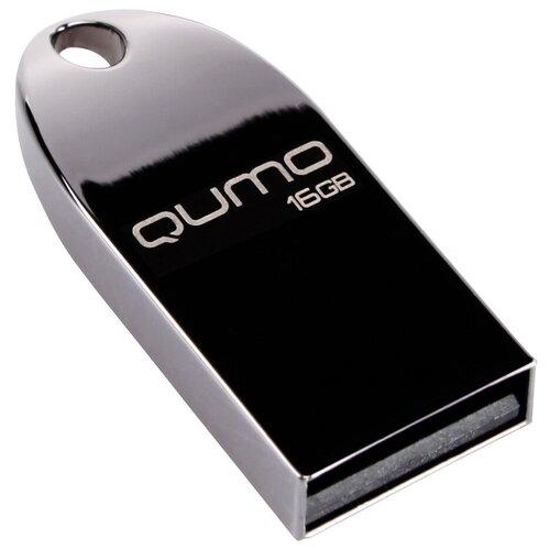 Фото - Флешка Qumo COSMOS 16Gb, черный флешка qumo speedster 16gb 16 гб черный