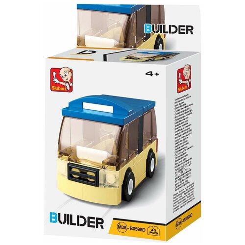 Фото - Конструктор SLUBAN Builder М38-В0598D Автобус конструктор свадебный автобус 379дет sluban м38 в0769