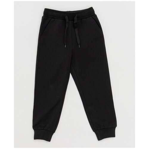 Купить Черные брюки Button Blue 121BBBB56010800 размер 140, Брюки