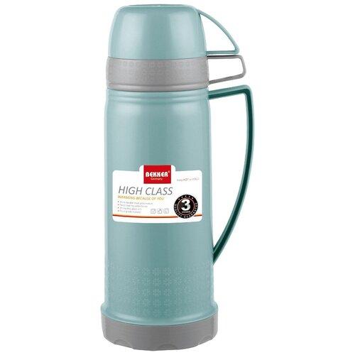 Классический термос Bekker BK-4400, 1.8 л бирюзовый