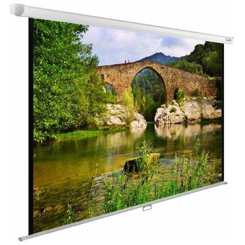 Рулонный матовый белый экран cactus WallExpert CS-PSWE-220x165-WT