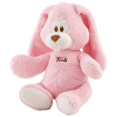 Мягкая игрушка Trudi Заяц Вирджилио розовый 26 см мягкая игрушка trudi заяц белый 28 см