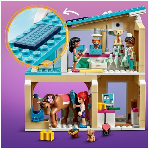 Конструктор LEGO Friends 41446 Ветеринарная клиника Хартлейк-Сити