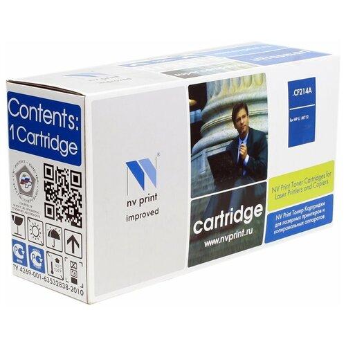 Фото - Картридж NV Print CF214A для HP, совместимый картридж nv print cf280x ce505x для hp совместимый