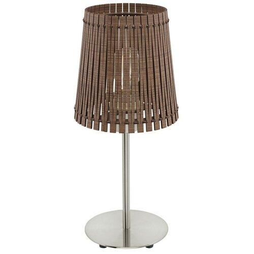 Фото - Настольная лампа Eglo Sendero 96203, 60 Вт настольная лампа eglo montalbano 98381 60 вт