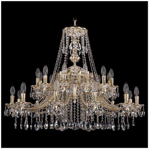 Люстра Bohemia Ivele Crystal 1771 1771/24/342/A/GW, E14, 960 Вт люстра bohemia ivele crystal 1771 12 340a gw