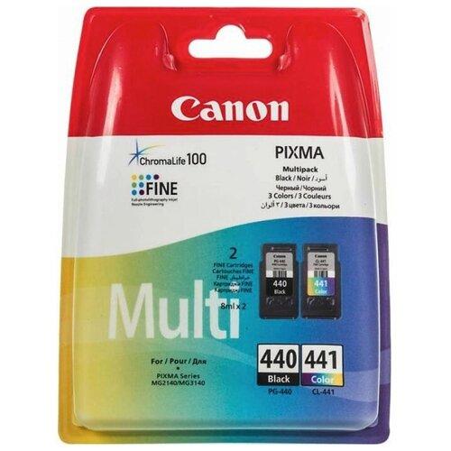 Фото - Набор картриджей Canon PG-440/CL-441 Multipack (5219B005) набор картриджей canon pg 40 cl 41 multipack 0615b043
