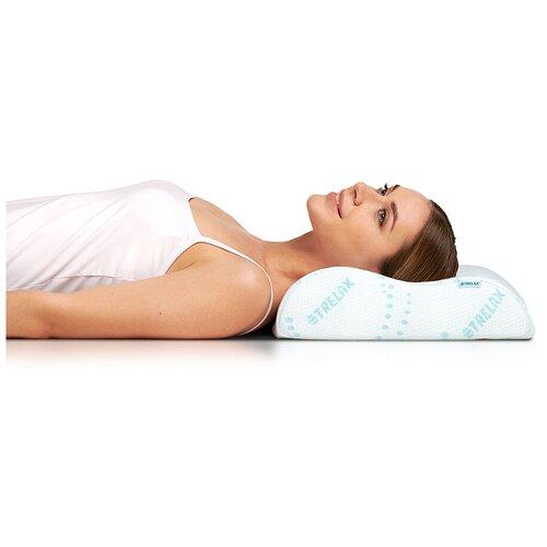 Подушка TRELAX ортопедическая Respecta П05 L 38 х 60 см белый