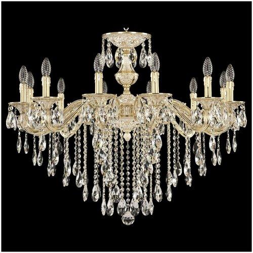 Люстра Bohemia Ivele Crystal 71202/12/300 B GW, E14, 480 Вт люстра bohemia ivele crystal 1771 12 340a gw