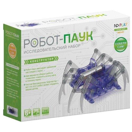 Фото - Конструктор ND Play На элементах питания 271122 Робот-паук nd play конструктор nd play дикий вепрь 14 деталей