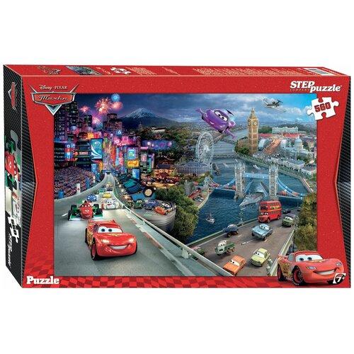 Пазл Step puzzle Disney Тачки (97009), 560 дет. пазл step puzzle черепашки ниндзя 97070 560 дет