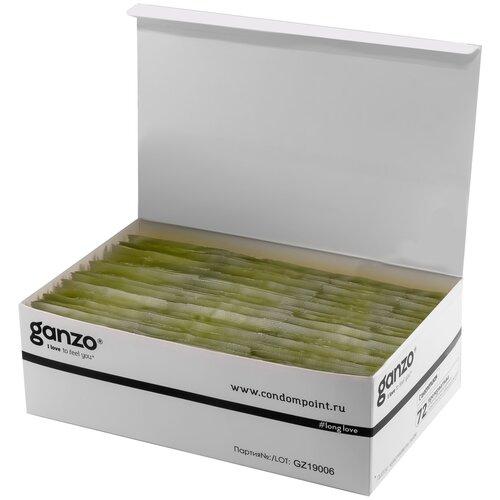 Презервативы Ganzo Long Love, 72 шт. презервативы ganzo ultra thin 72 шт
