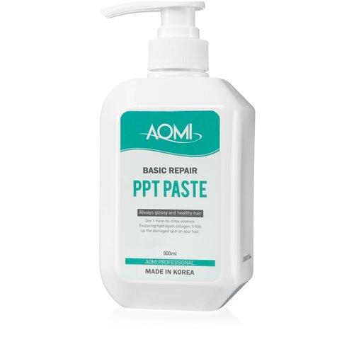 Купить AOMI Восстанавливающая маска для волос с коллагеном Basic Repair PPT Paste