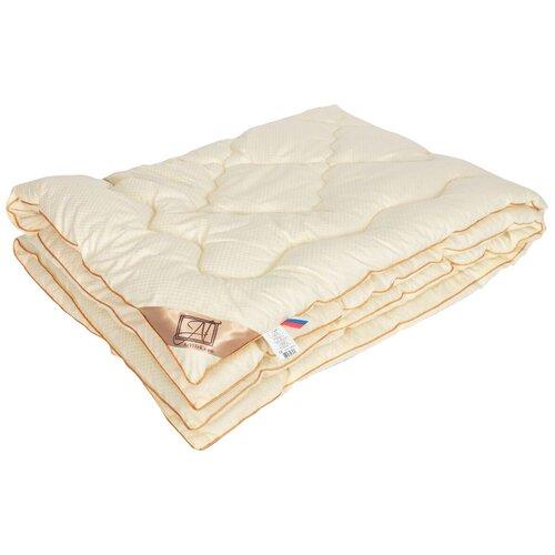 Фото - Одеяло АльВиТек Модерато, очень теплое, 140 х 205 см (сливочный) одеяло альвитек модерато эко всесезонное 172 х 205 см сливочный