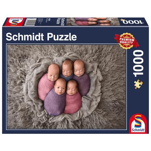 Пазл Schmidt Младенцы (58301), 1000 дет.