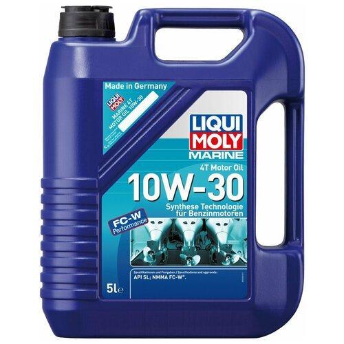Полусинтетическое моторное масло LIQUI MOLY Marine 4T Motor Oil 10W-30, 5 л недорого