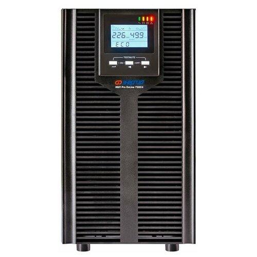 ИБП с двойным преобразованием Энергия Pro OnLine 12000 (EA-9010H) черный