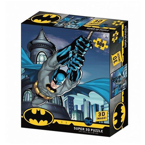 Пазл Prime 3D Super 3D Полет Бэтмена (32521), 500 дет. пазл prime 3d super 3d полет бэтмена 32521 500 дет