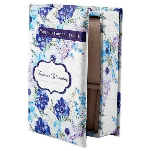 Русские подарки Шкатулка 84565 белый/голубой