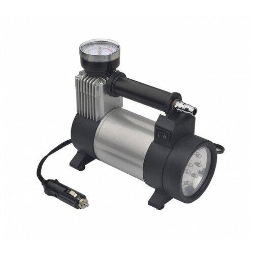Автомобильный компрессор Энергомаш АК-8835Л серебристый/черный