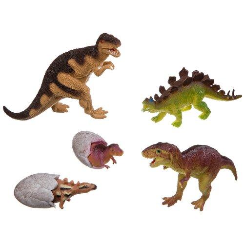 Фото - Фигурки BONDIBON Ребятам о зверятах - Динозавры ВВ3141 фигурки bondibon ребятам о зверятах домашние животные вв1637