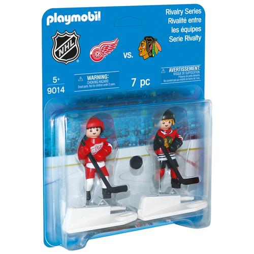 Набор с элементами конструктора Playmobil NHL 9014 Чикаго против Детройта