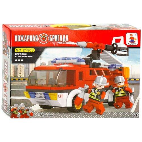 Купить Конструктор Ausini Пожарная бригада 21503, Конструкторы