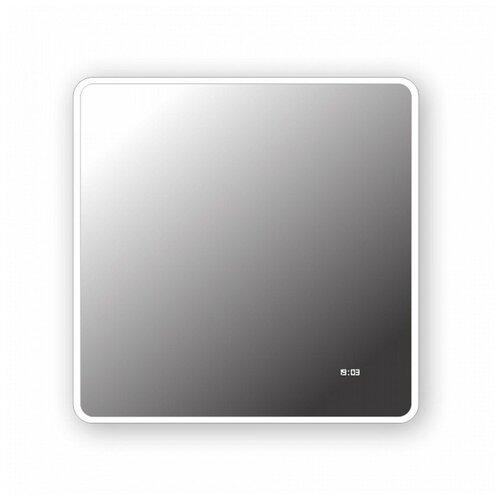Зеркало Teymi Aina 80х80, LED подсветка, часы