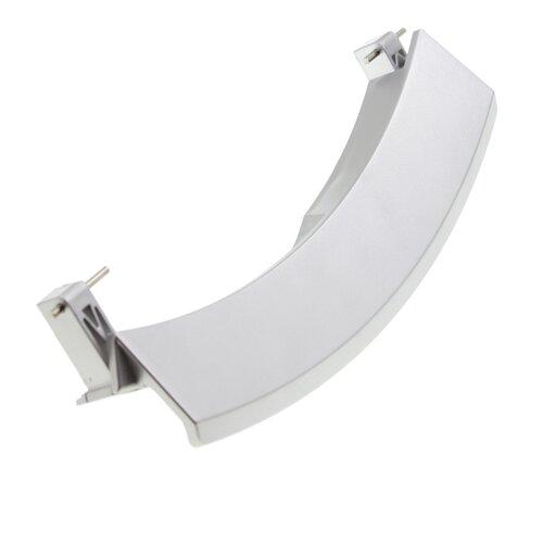 Ручка люка для стиральной машины Bosch (Бош), Siemens (Сименс) серебро 751783