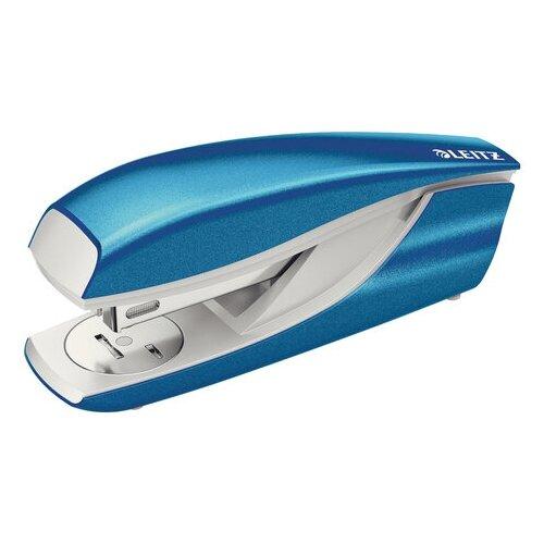 Купить Степлер №24/6, 26/6 металлический LEITZ New NeXXt WOW , до 30 л., синий металлик, 55022036, Степлеры, скобы, антистеплеры