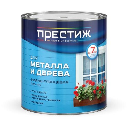 Фото - Эмаль алкидная (А) ПРЕСТИЖ ПФ-115 глянцевая зеленый 2.8 кг эмаль пф 115 алкидная престиж skladno голубая 10 кг