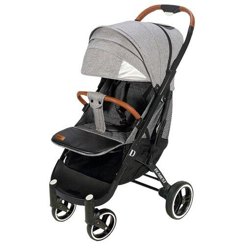 Купить Прогулочная коляска Dearest Pro (Yoya Plus Pro), серый/черная рама, цвет шасси: черный, Коляски