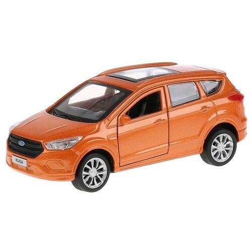 Купить Легковой автомобиль ТЕХНОПАРК Ford Kuga (KUGA-BU/GY/RD), 12 см, оранжевый, Машинки и техника