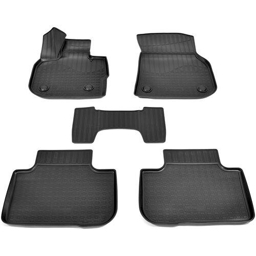 Фото - Комплект ковриков салона NorPlast NPA11-C07-610 для BMW X4 5 шт. черный комплект ковриков norplast npa11 c94 700 5 шт бежевый
