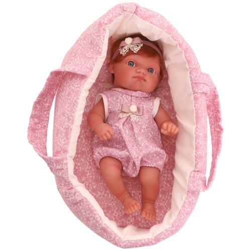 Интерактивная кукла Antonio Juan Ольга в розовом, 21 см, 3910P фото