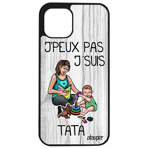 """Чехол для телефона iPhone 12, """"Не могу - стала тетей!"""" Юмор Семья"""