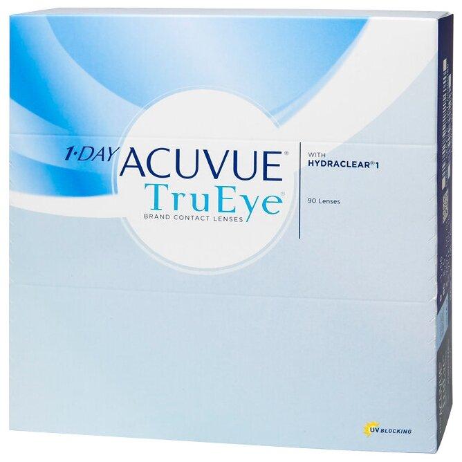 Контактные линзы Acuvue 1-Day TruEye, 90 шт. — купить по выгодной цене на Яндекс.Маркете