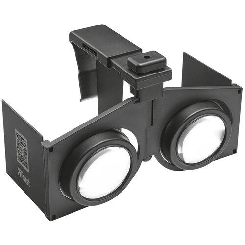 Очки виртуальной реальности для смартфона Trust Pixi Foldable 3D черный