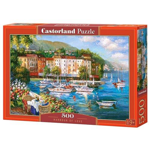 Пазл Castorland Harbour Of Love (B-53414), 500 дет. пазл castorland tall ship leaving harbour b 52851 500 дет