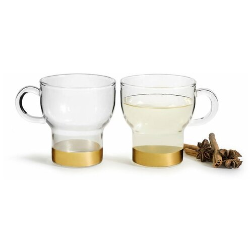 SagaForm Набор чашек для глинтвейна Winter, 250 мл, 2 шт