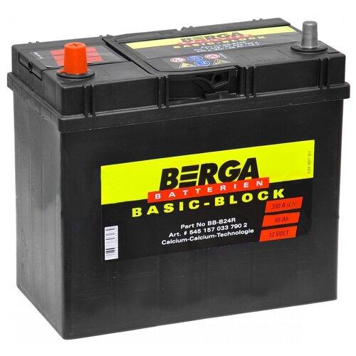 Автомобильный аккумулятор Berga BB-B24R