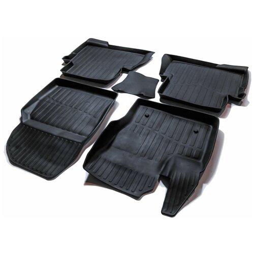 Фото - Комплект ковриков салона SRTK PR.FD.KU.12G.02078 для Ford Kuga 5 шт. черный комплект ковриков салона srtk pr w pas b7 11g 02023 5 шт черный