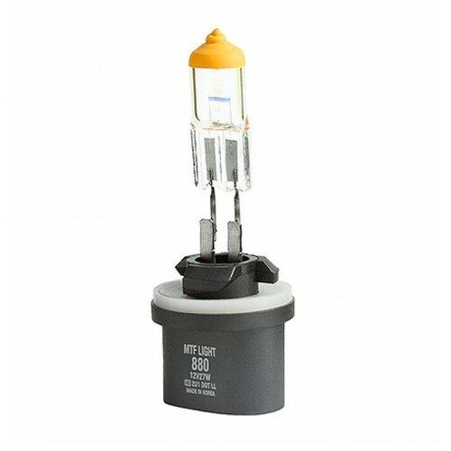 Лампа автомобильная галогенная MTF Aurum HAU1280 Н27 (880) 12V 27W 2 шт.