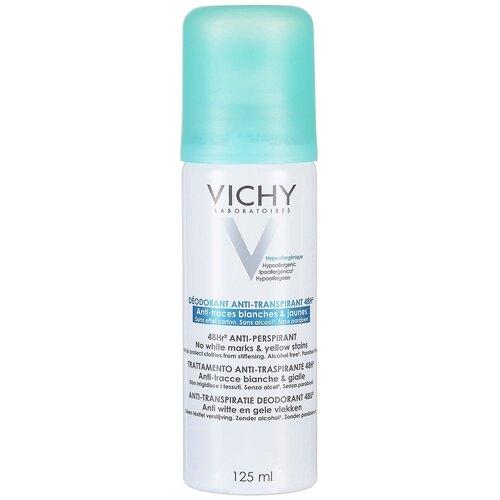 Vichy дезодорант-антиперспирант, спрей, против белых и желтых пятен 48 ч, 125 мл
