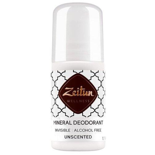 Купить Zeitun дезодорант, ролик, минеральный Нейтральный без запаха для чувствительной кожи с коллоидным серебром, 50 мл